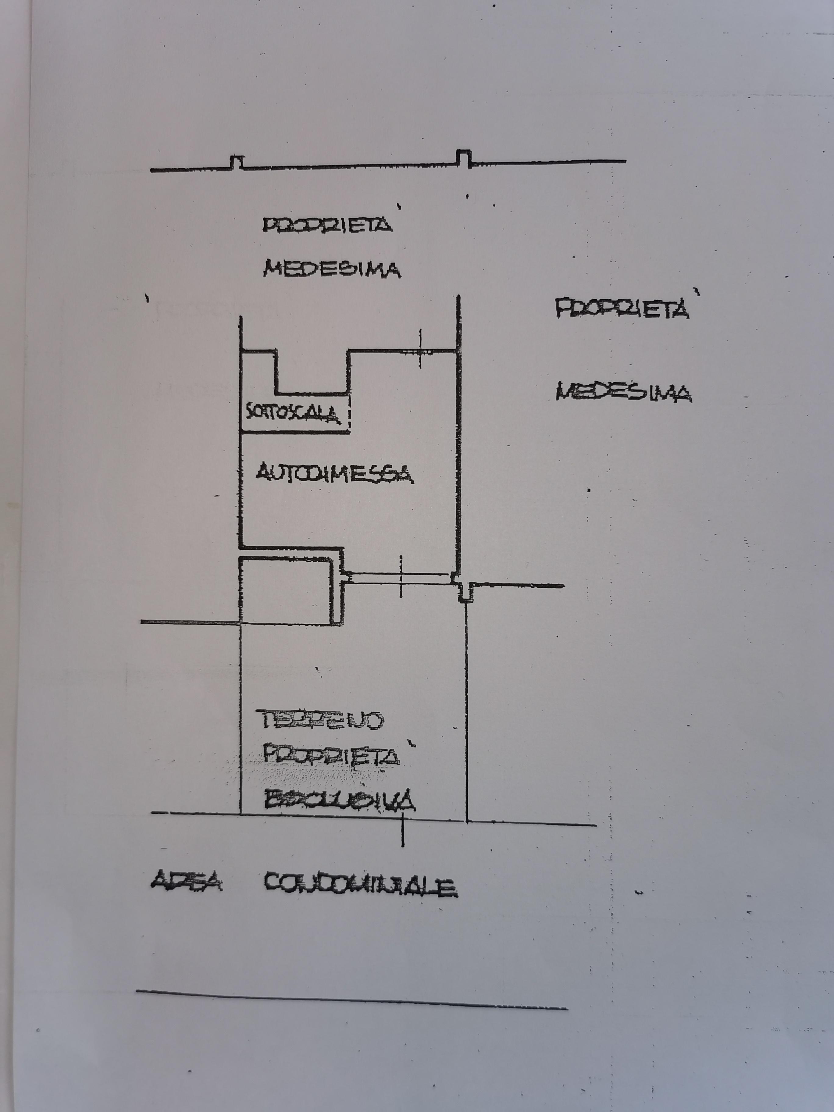 Planimetria 1/4 per rif. IA5741