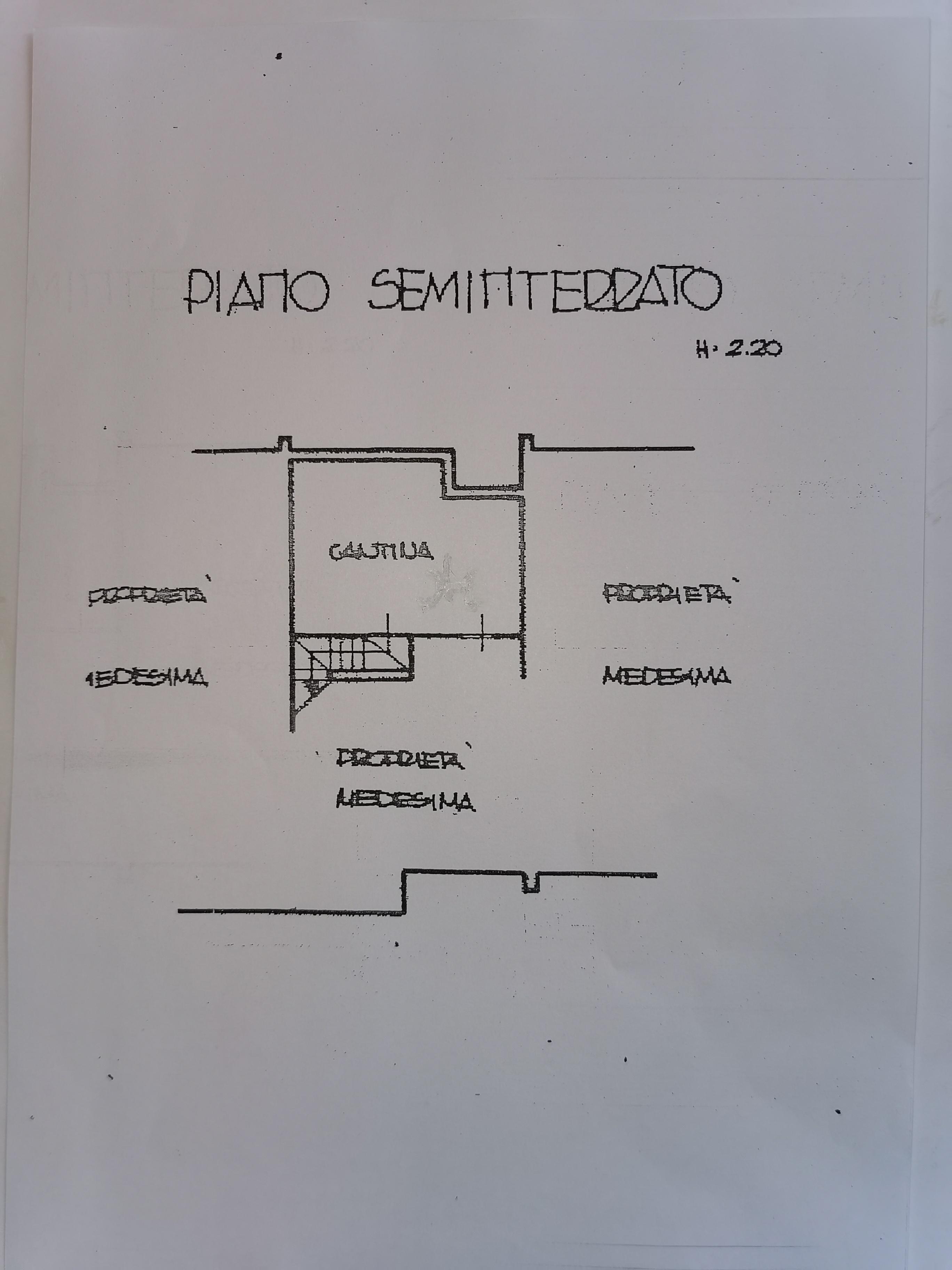 Planimetria 2/4 per rif. IA5741