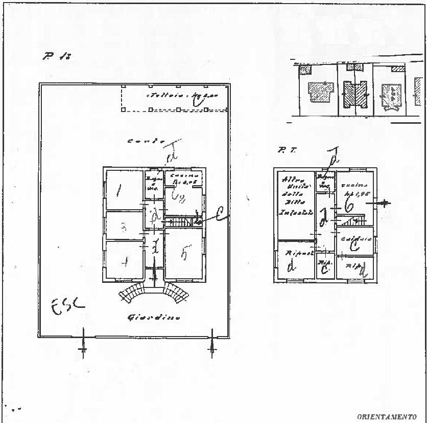 Planimetria 1/1 per rif. IA5749