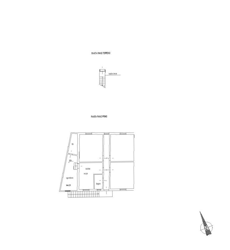 Planimetria 1/1 per rif. 7852DD