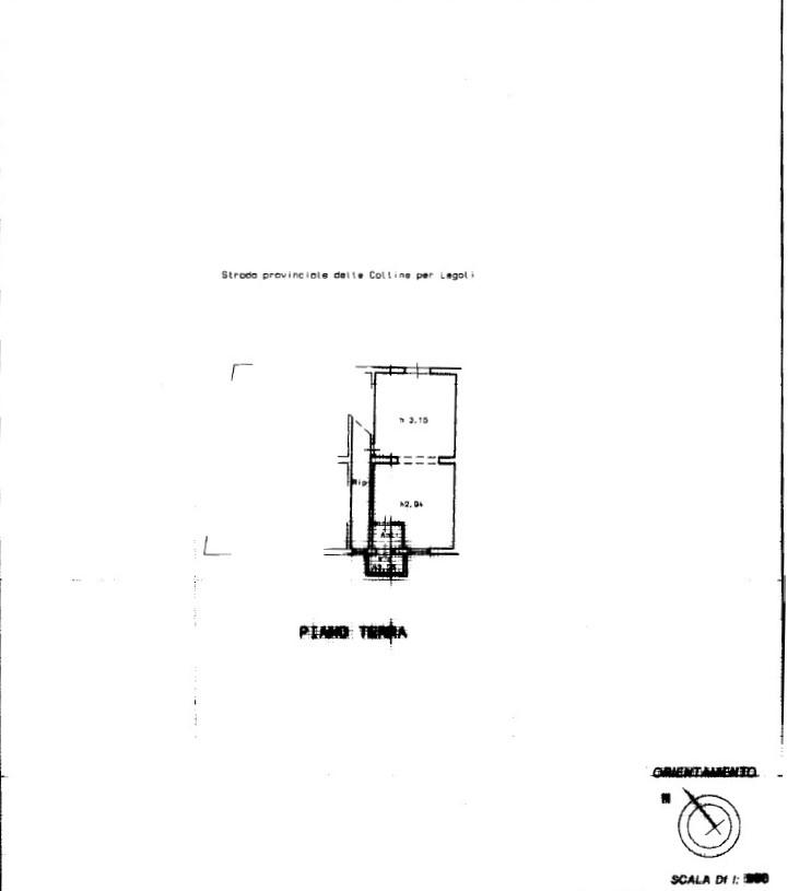 Planimetria 1/1 per rif. 7853DD