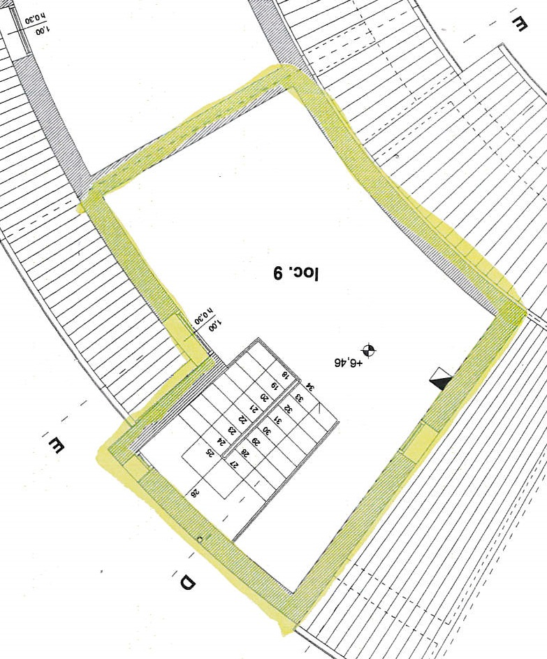 Planimetria 2/3 per rif. 4353/BC