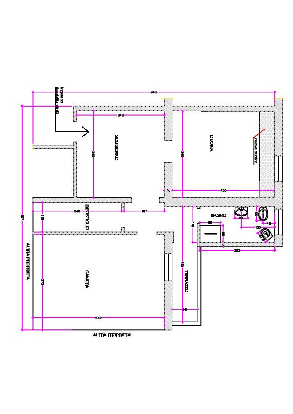 Planimetria 1/1 per rif. 6880/C
