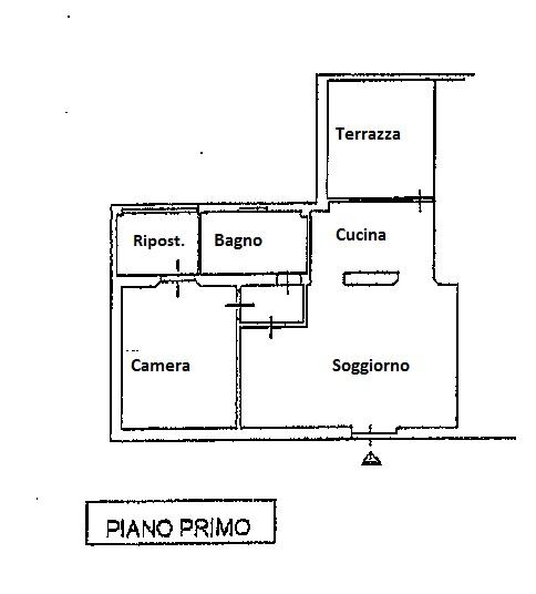 Planimetria 1/1 per rif. 5866/GD