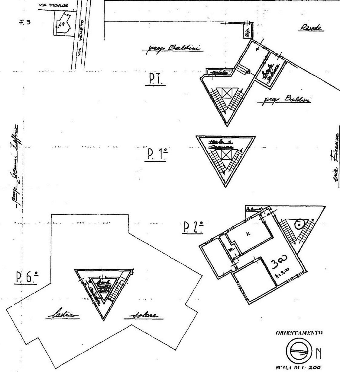 Planimetria 1/1 per rif. 7818/GD