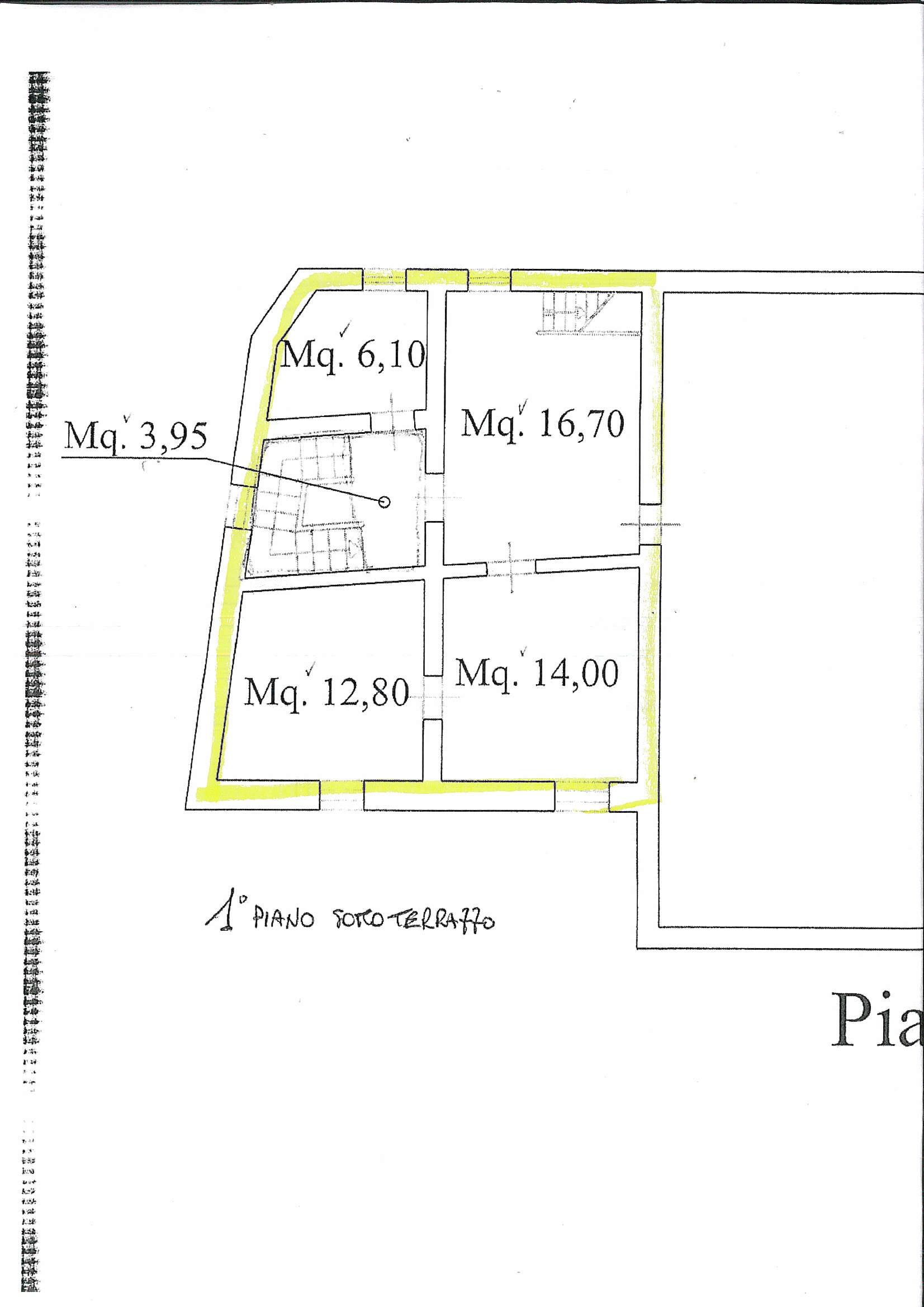 Planimetria 1/2 per rif. 7006/BD