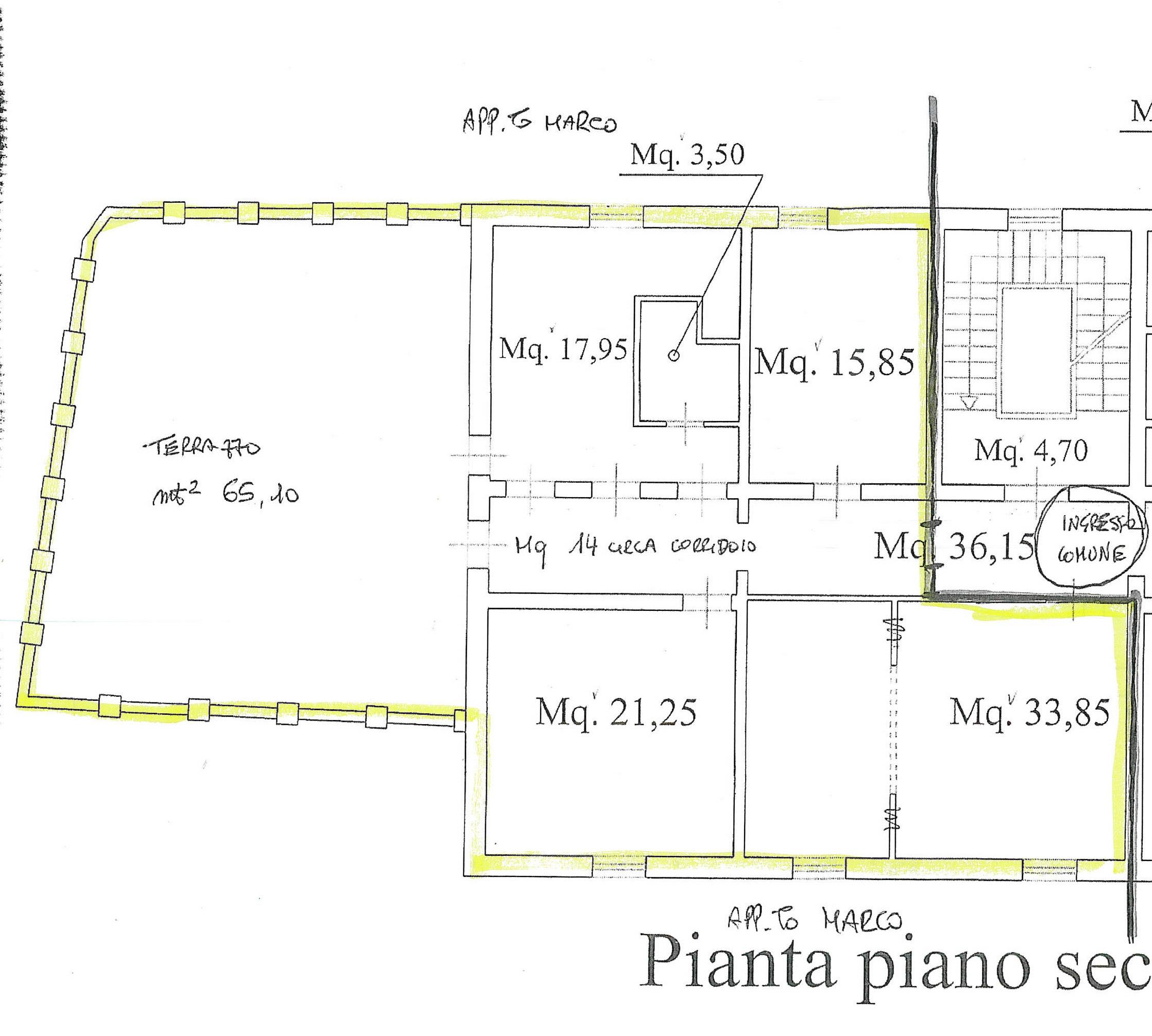 Planimetria 2/2 per rif. 7006/BD