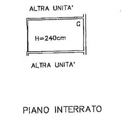 Planimetria 1/2 per rif. 7299/BD
