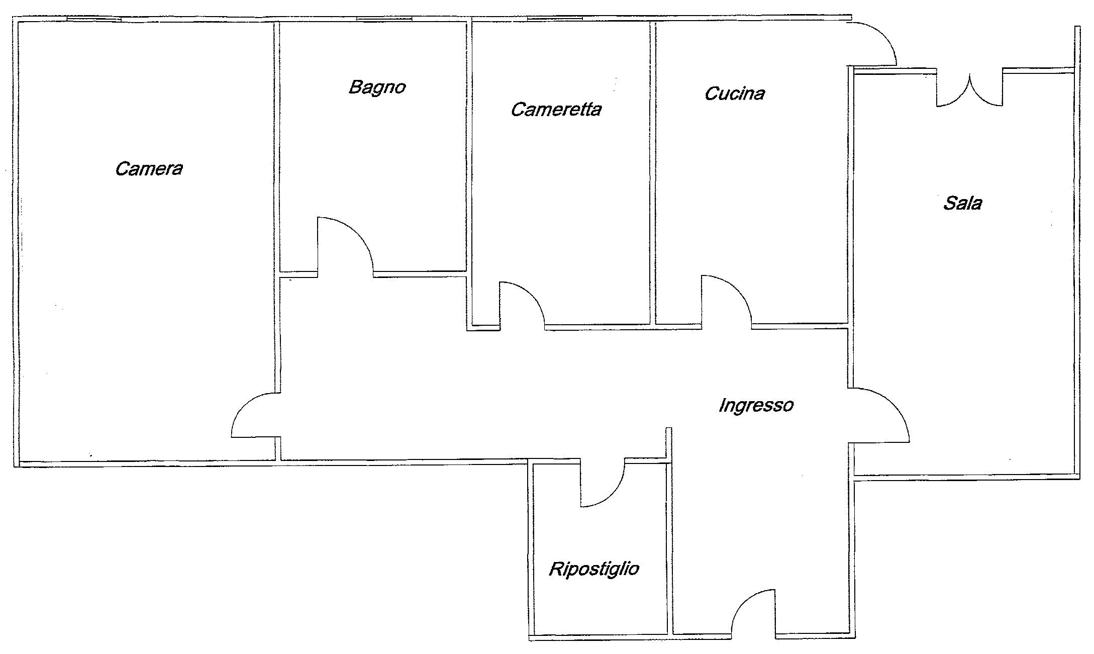 Planimetria 1/1 per rif. 7320/C