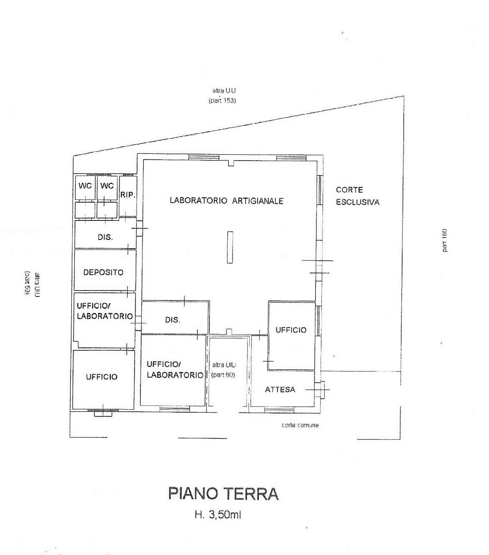 Planimetria 1/1 per rif. 7366/GD