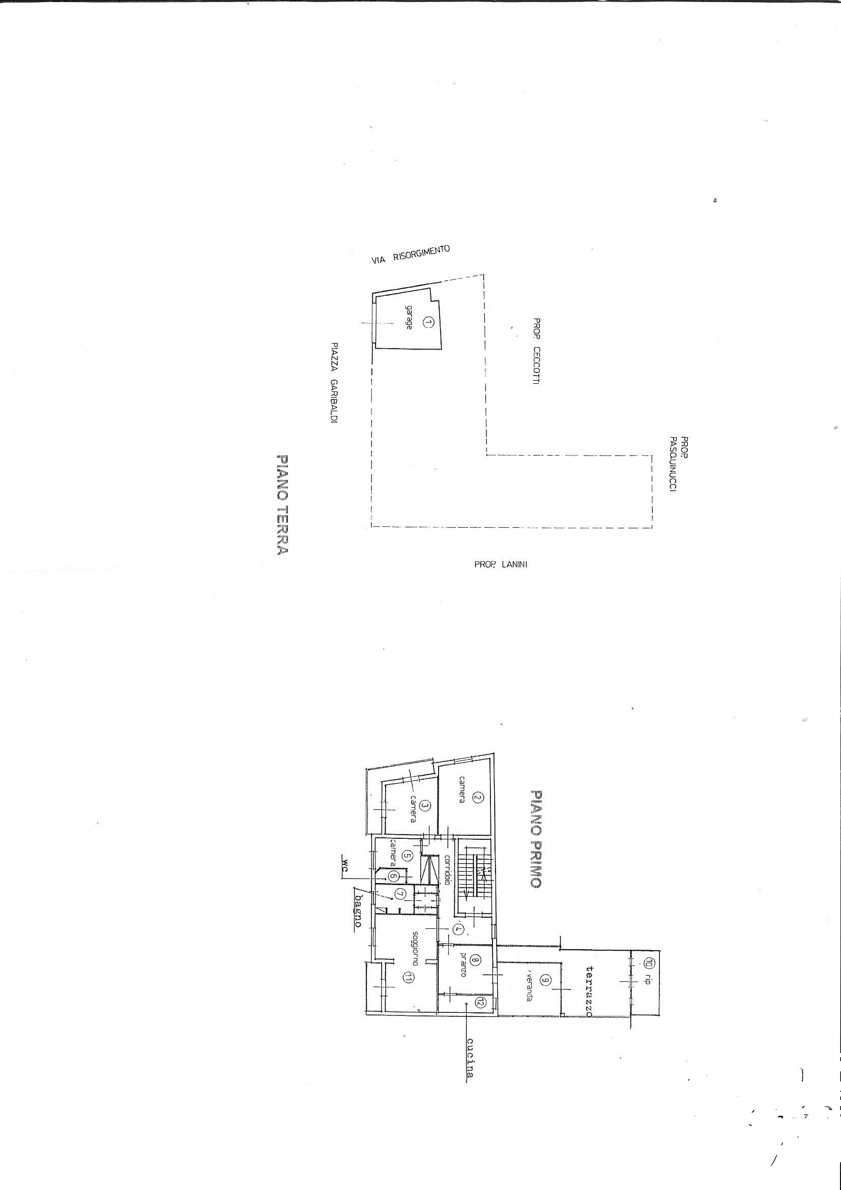Planimetria 1/1 per rif. 7367/GD