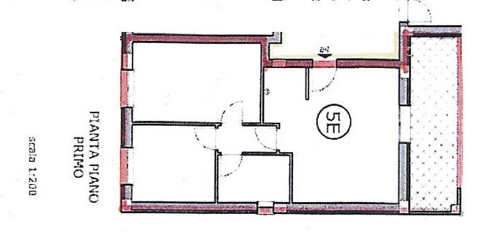 Planimetria 1/1 per rif. 7372/GD