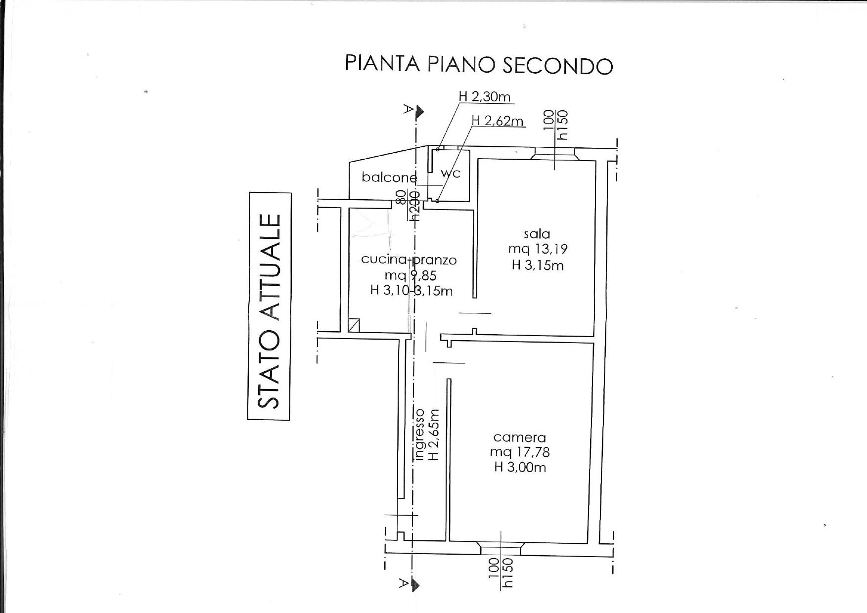 Planimetria 1/1 per rif. 7374/BD
