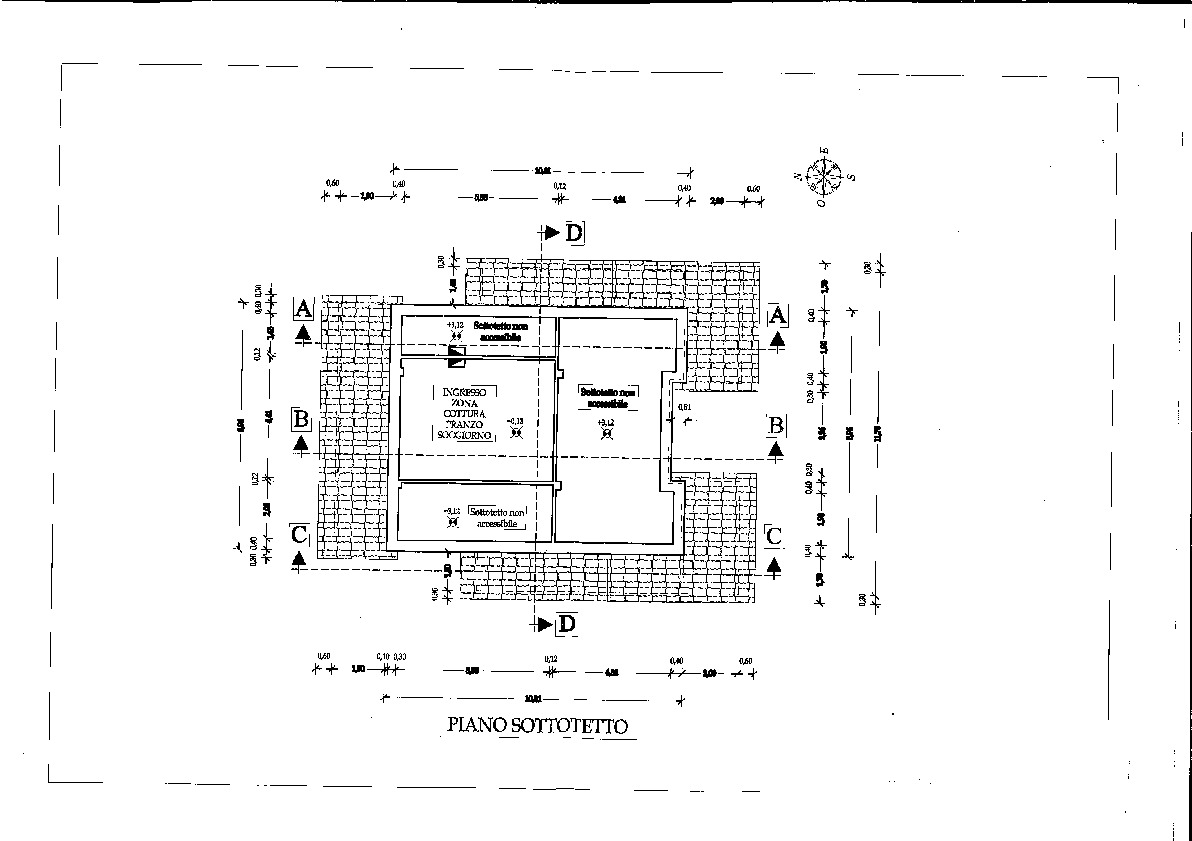 Planimetria 1/1 per rif. 7384GD