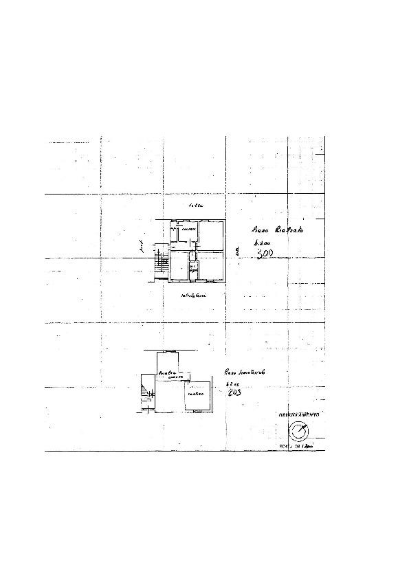 Planimetria 1/1 per rif. 7408/BD