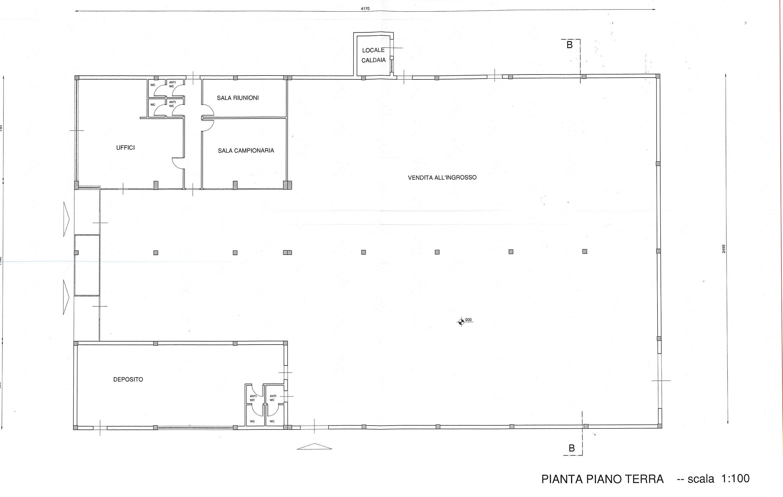 Planimetria 1/1 per rif. 7416/BD