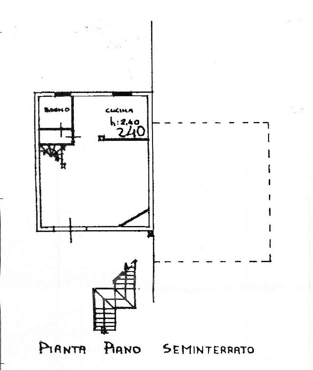 Planimetria 1/3 per rif. 7418/BD