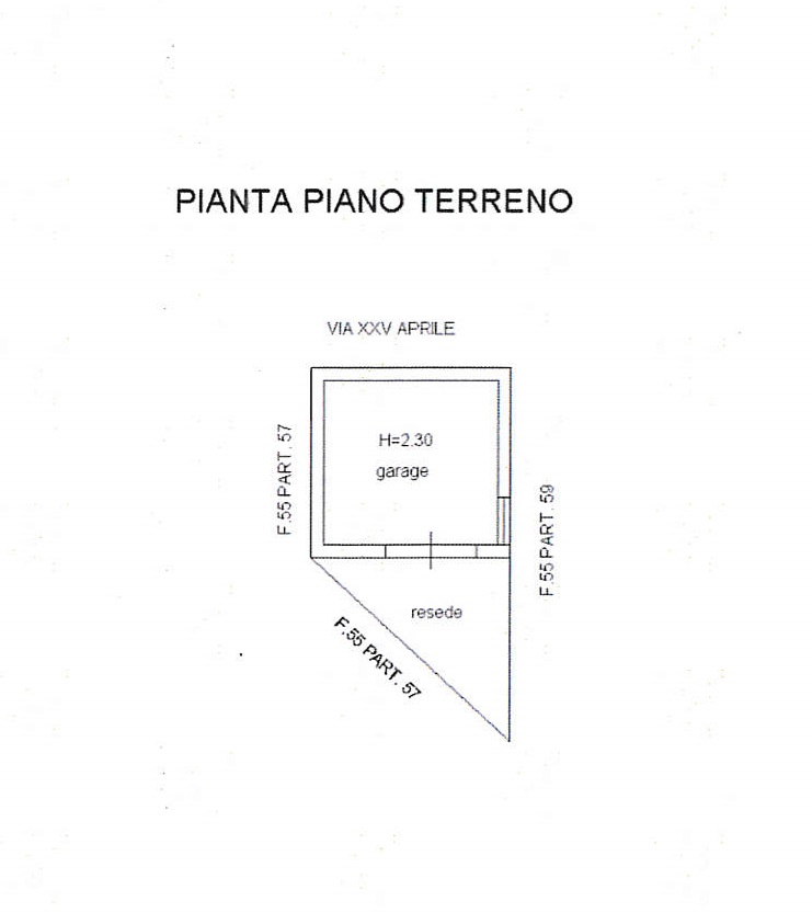 Planimetria 2/2 per rif. 7418/GD