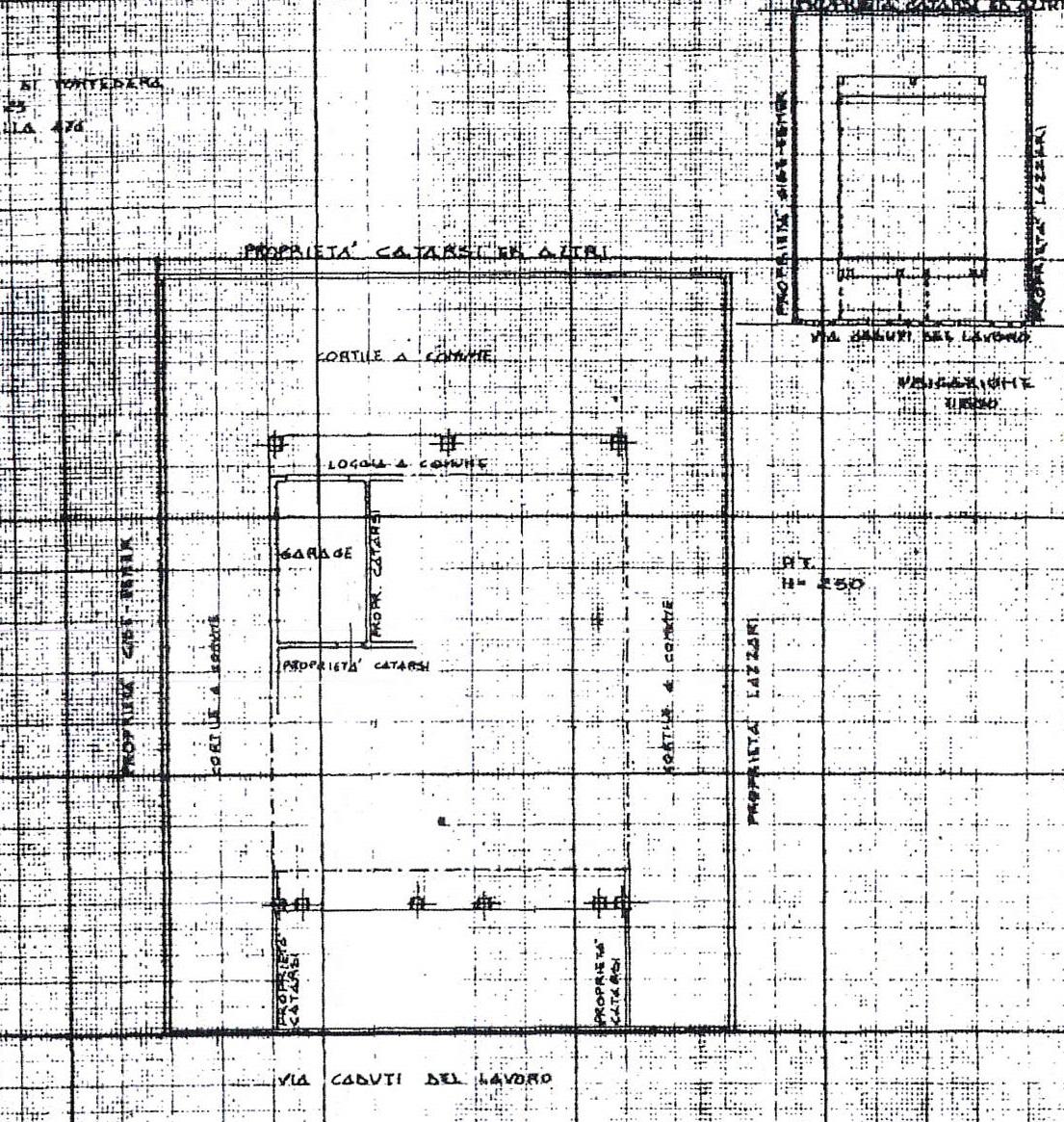 Planimetria 1/2 per rif. 7420/GD