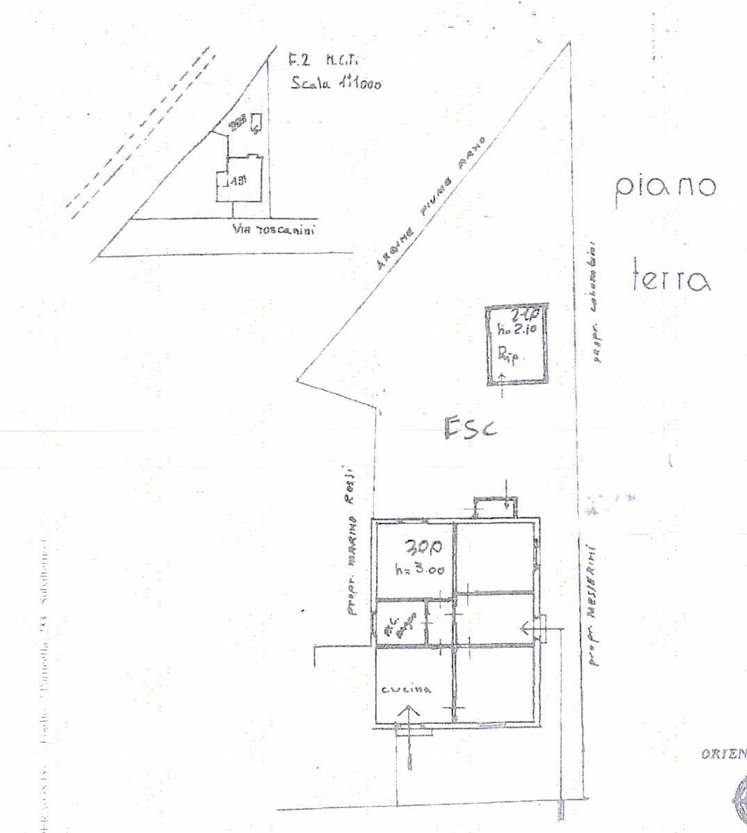 Planimetria 2/2 per rif. 7424/GD