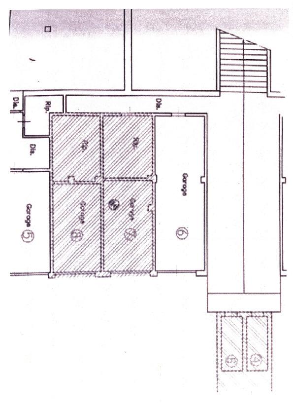 Planimetria 2/2 per rif. 7452/BD