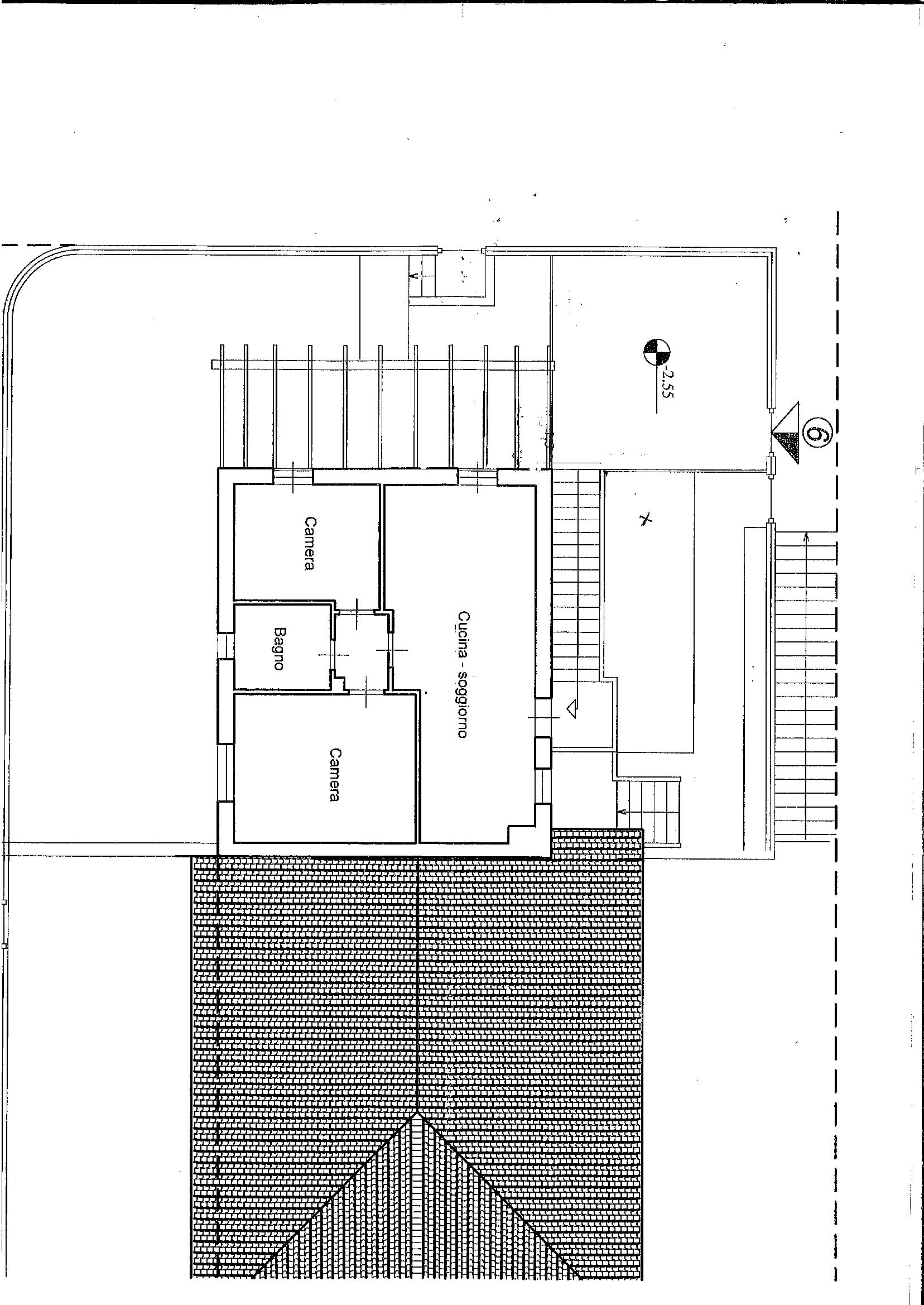 Planimetria 1/2 per rif. 7452/BD