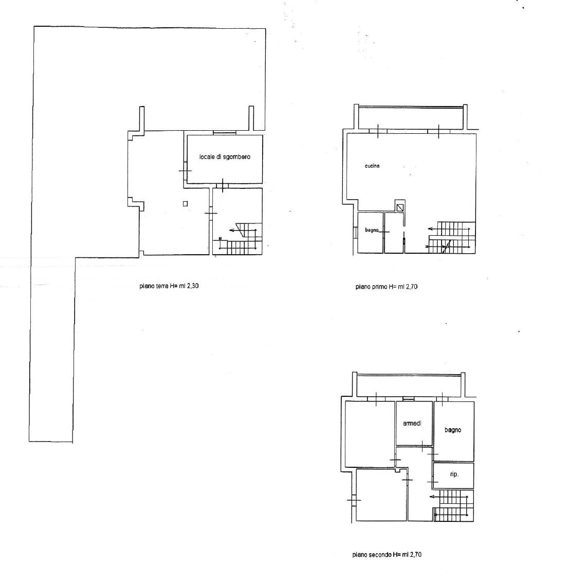 Planimetria 1/1 per rif. 7454/FD