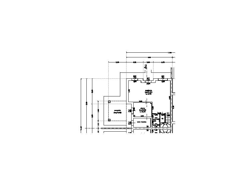 Planimetria 1/2 per rif. 7459/BC