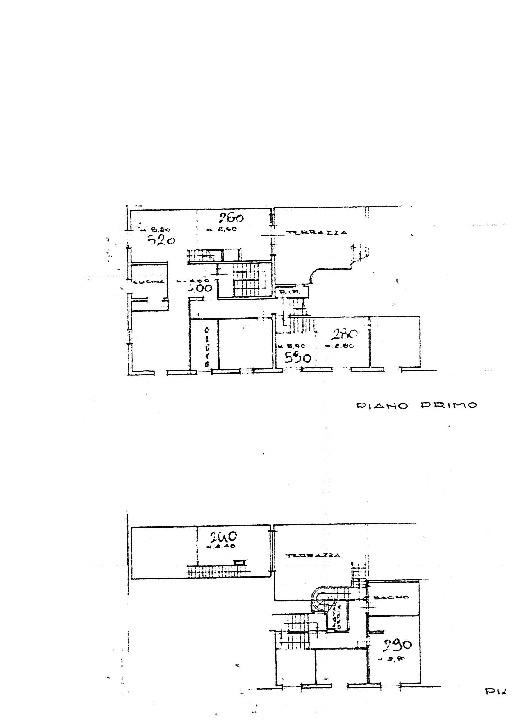 Planimetria 1/1 per rif. 7462/BD