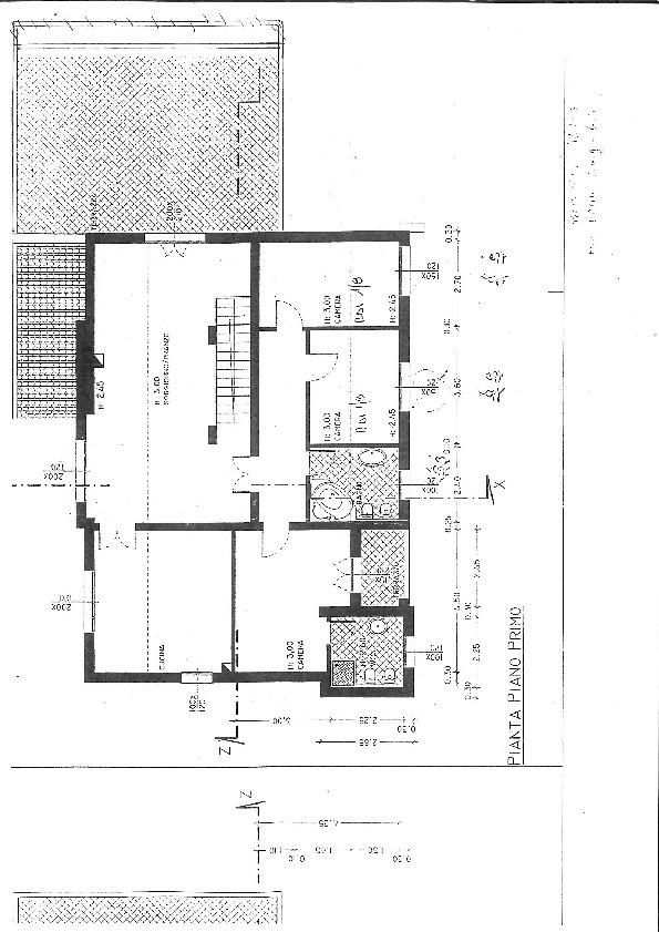 Planimetria 1/2 per rif. 7467/BD