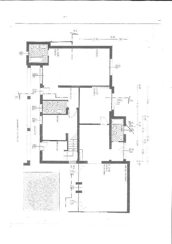 Planimetria 2/2 per rif. 7467/BD
