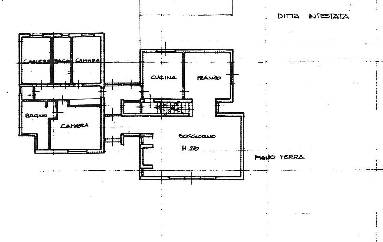 Planimetria 3/3 per rif. 7504/BD