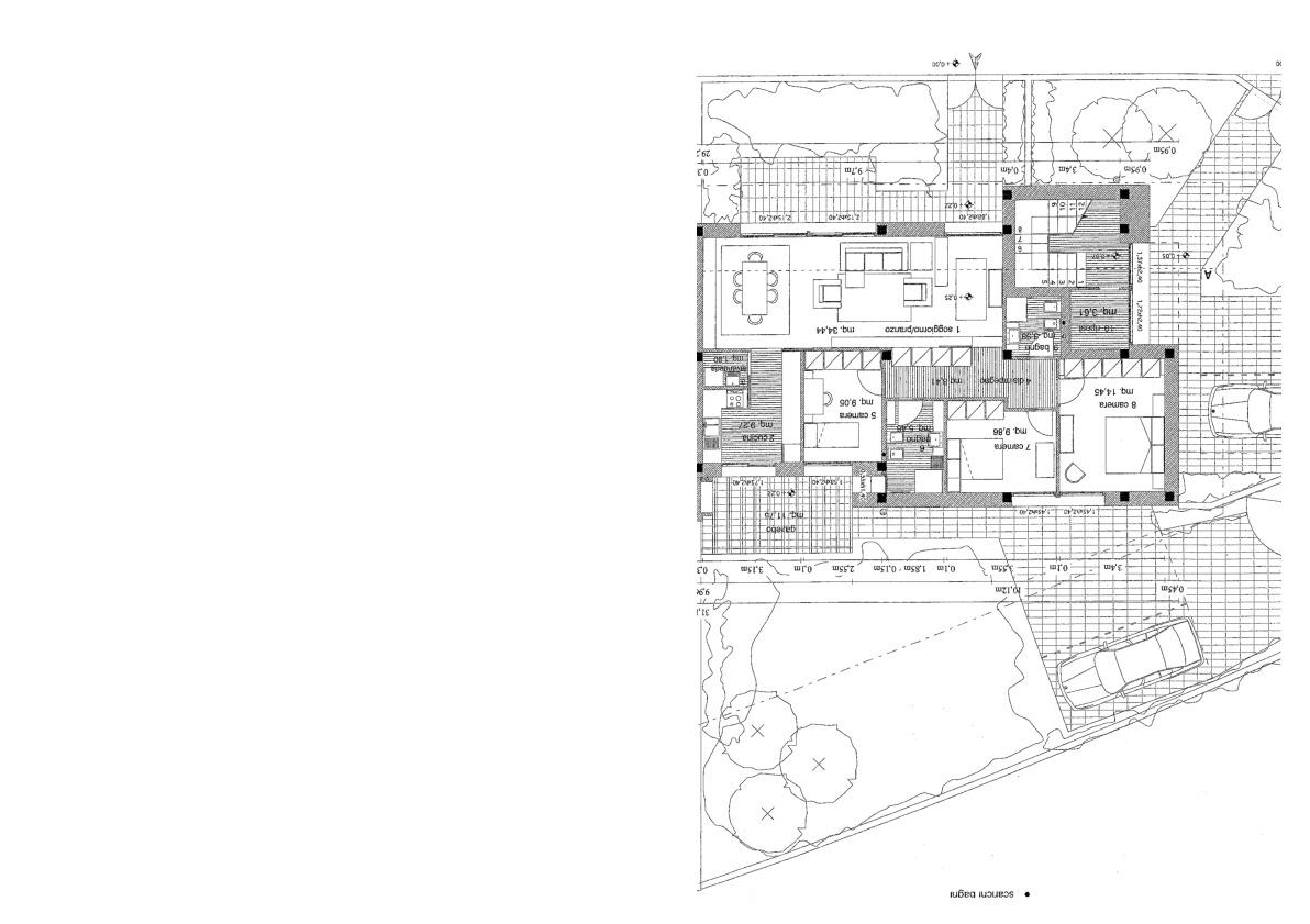 Planimetria 1/4 per rif. 7521/BC