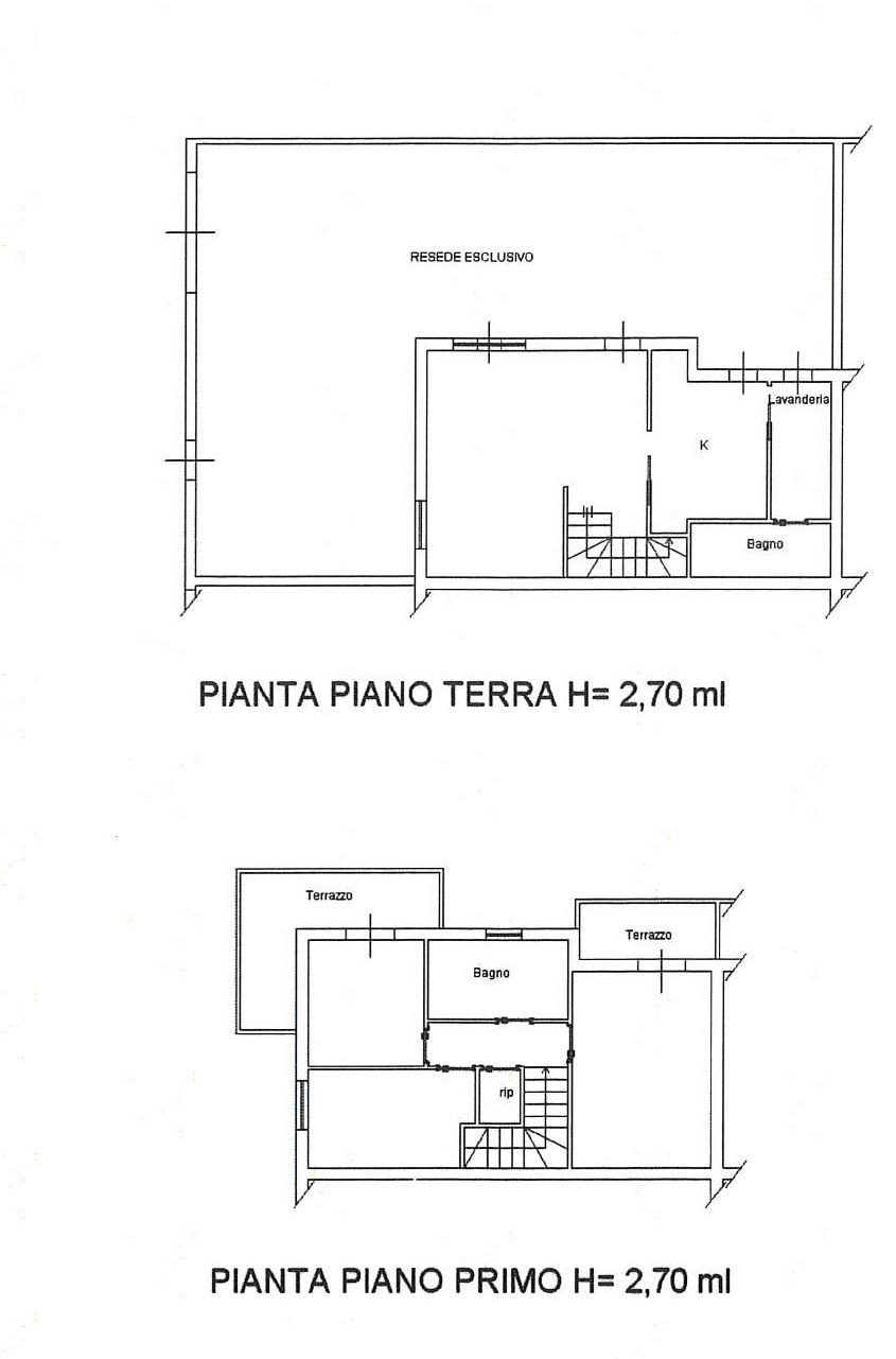 Planimetria 1/1 per rif. 7553/G