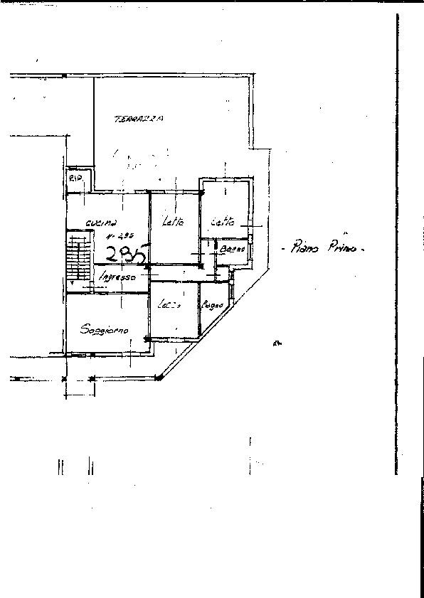 Planimetria 1/1 per rif. 7588/BD