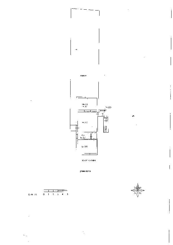 Planimetria 2/2 per rif. 7607/BD