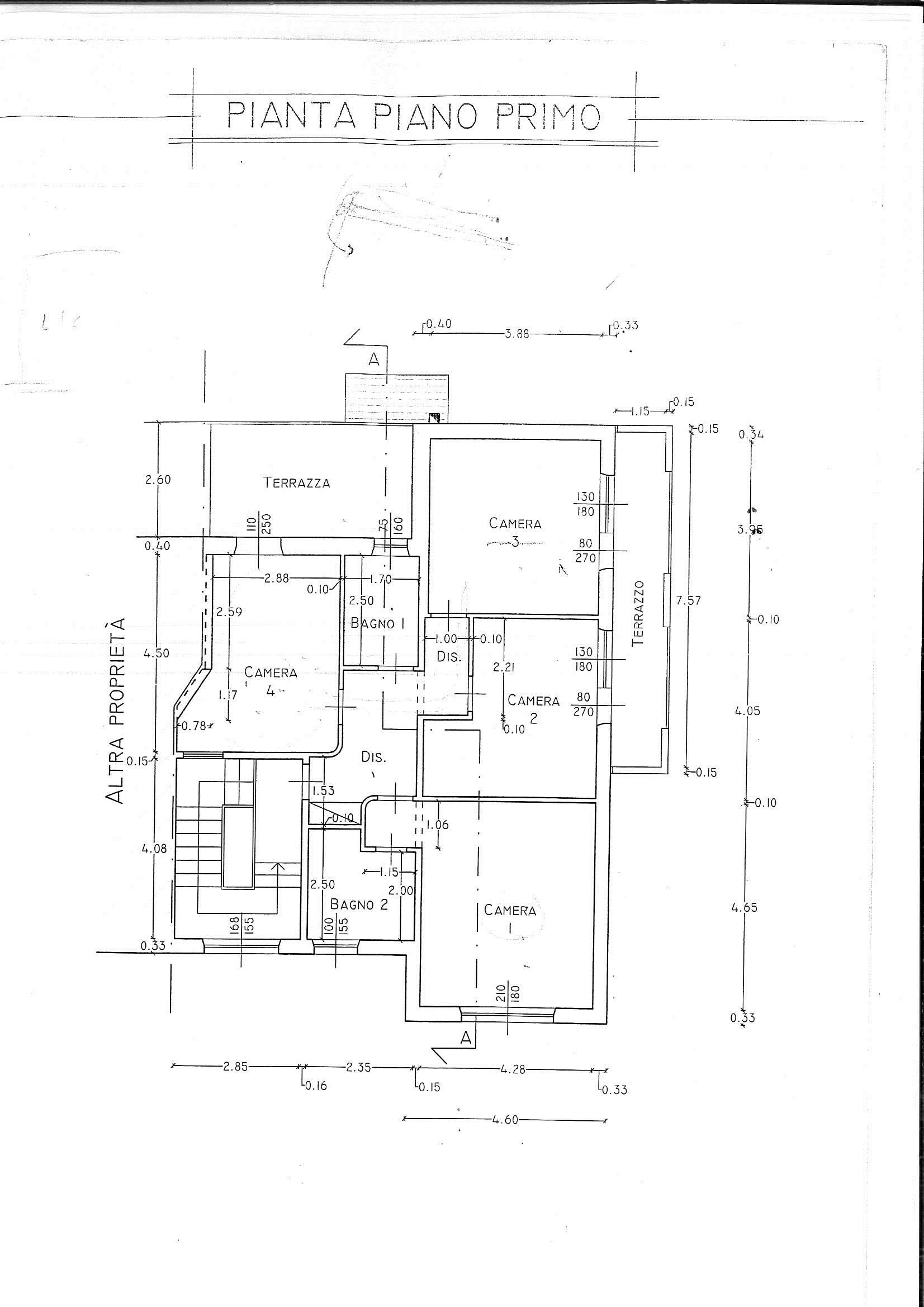 Planimetria 2/2 per rif. 7614/B