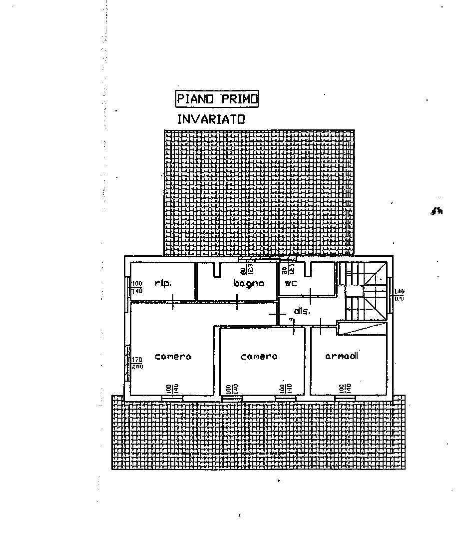 Planimetria 2/3 per rif. 7626/CAD