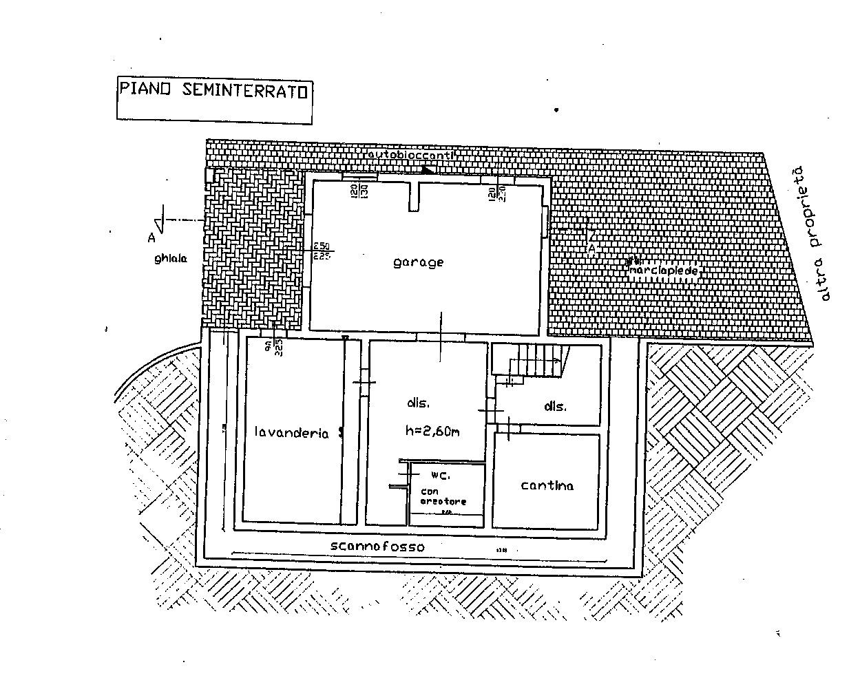 Planimetria 3/3 per rif. 7626/CAD