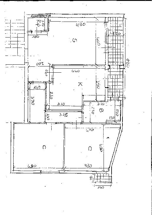 Planimetria 1/1 per rif. 7630/BD