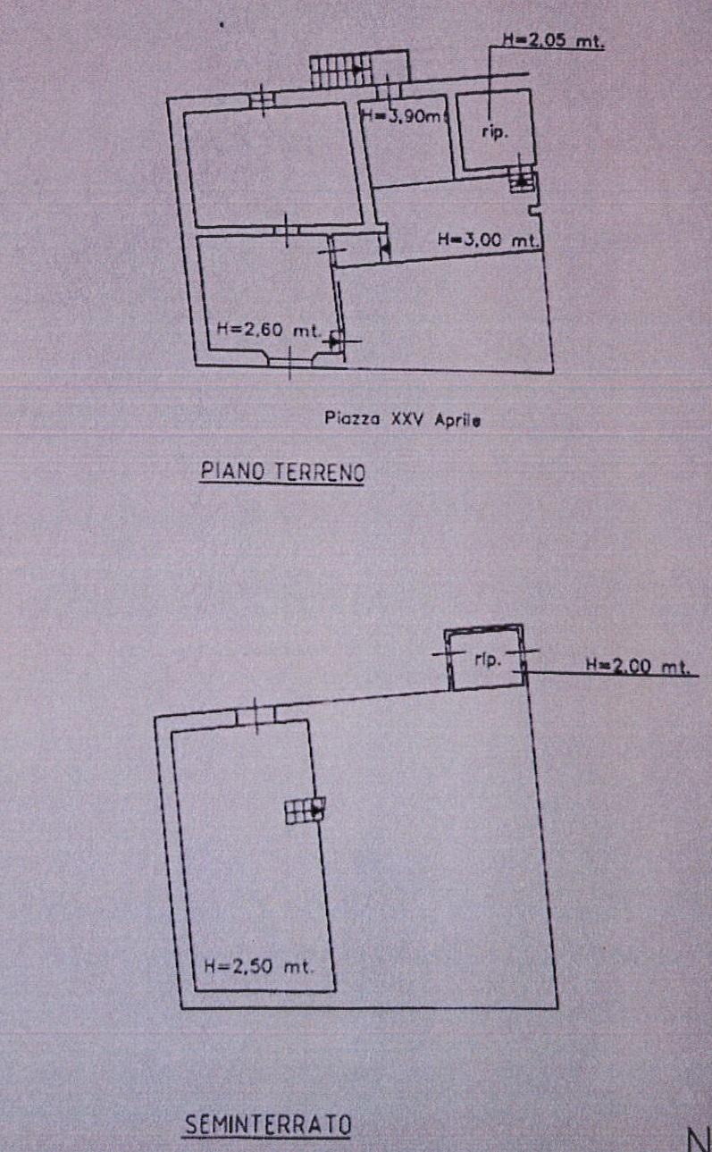 Planimetria 1/2 per rif. 7632/GD