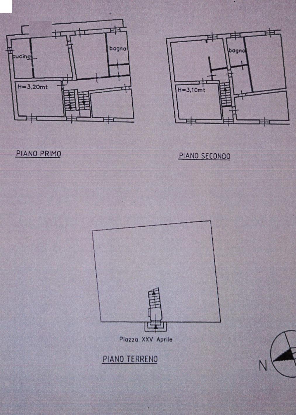 Planimetria 2/2 per rif. 7632/GD