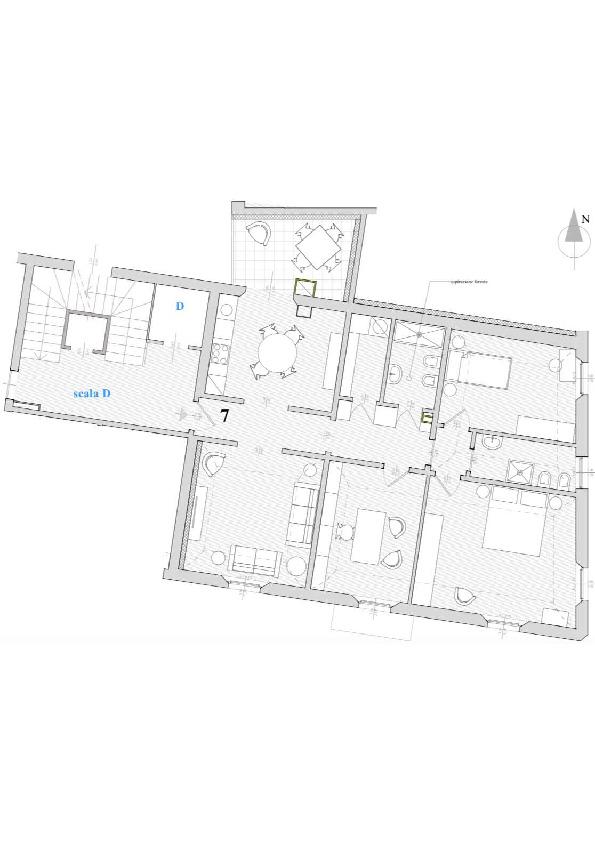 Planimetria 1/1 per rif. 7638/BC7
