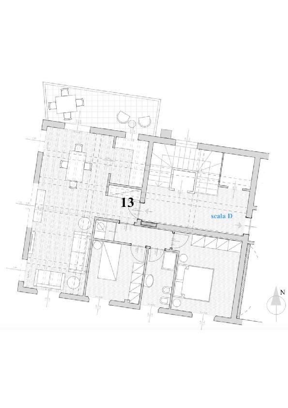 Planimetria 1/1 per rif. 7638/BC13