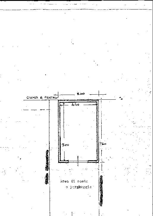 Planimetria 2/2 per rif. 7654/BD