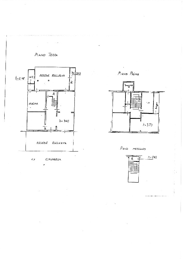 Planimetria 1/1 per rif. 7664/BD