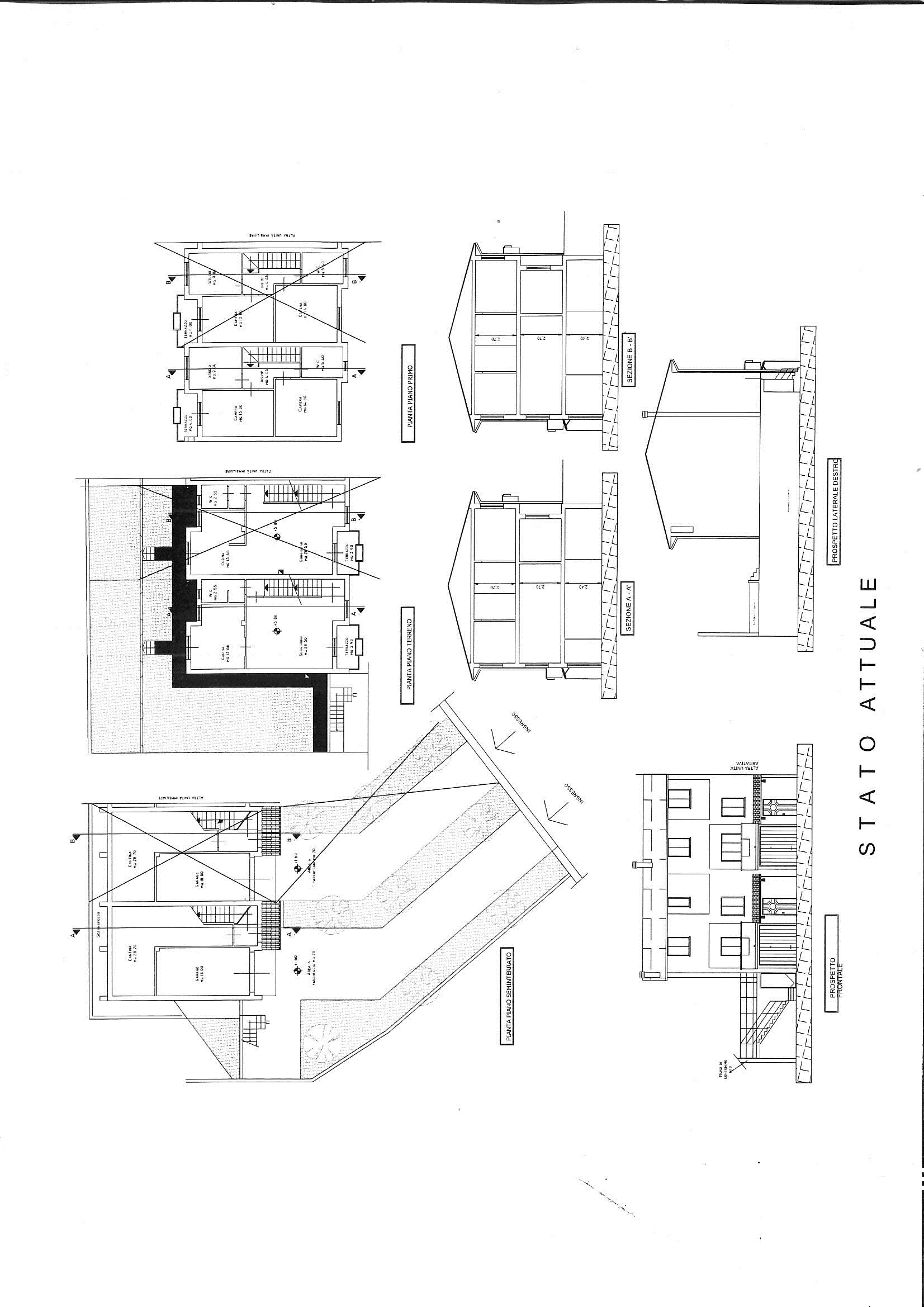 Planimetria 1/1 per rif. 7726/GD