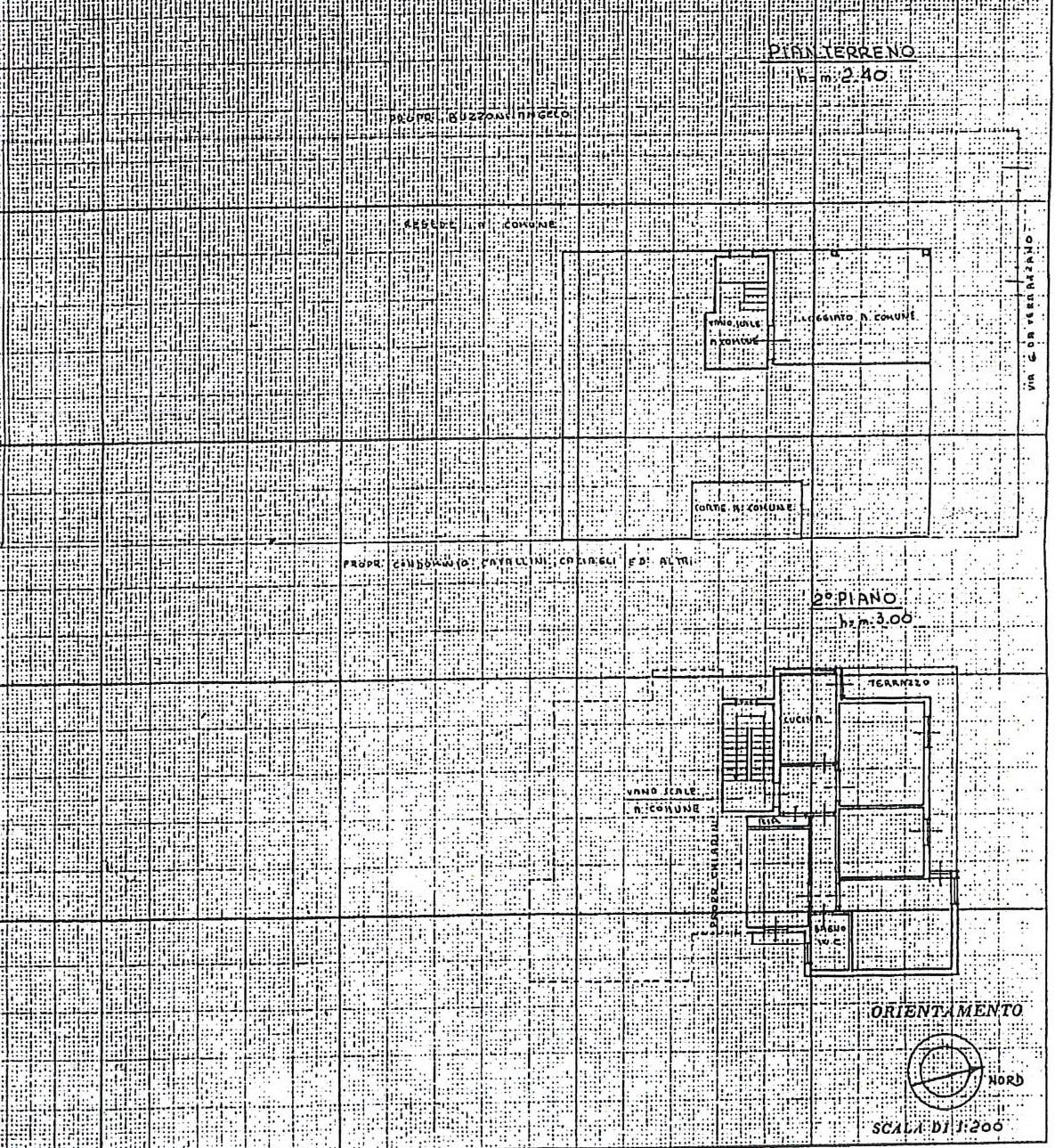 Planimetria 1/1 per rif. 7769/GD