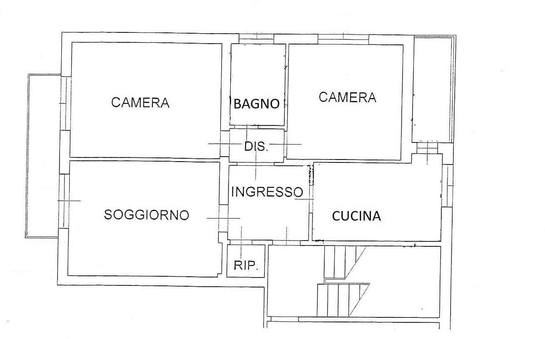 Planimetria 1/2 per rif. 7786/C