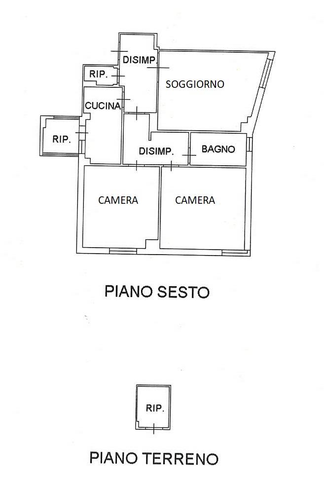 Planimetria 1/1 per rif. 7791/C